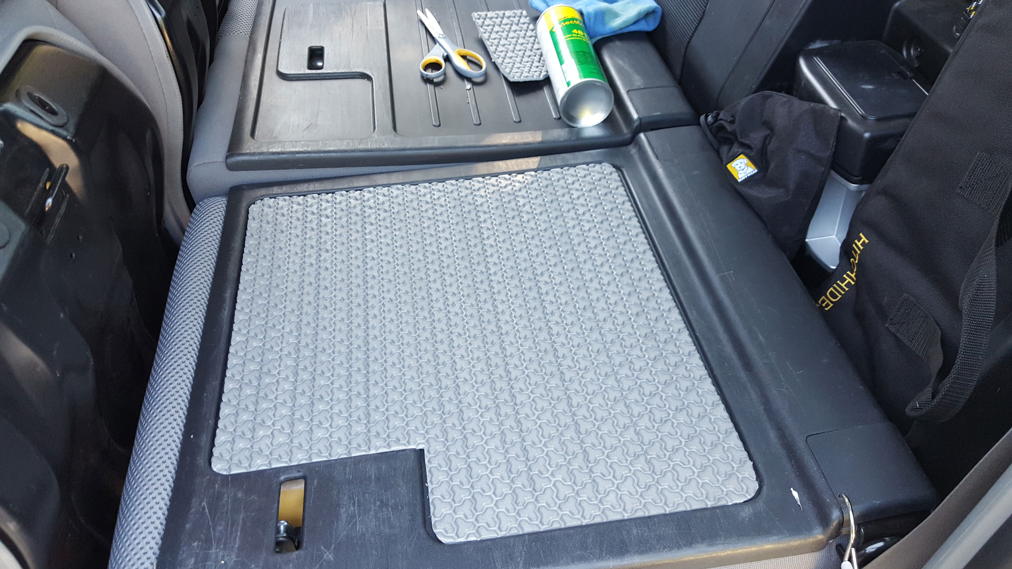 Traction Mat Toyota Tacoma Seat Back