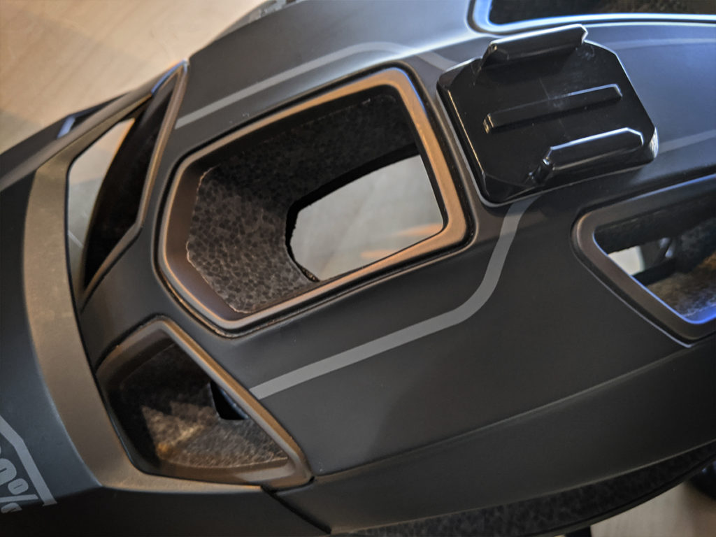 Altec helmet black with magnesium vent shrouds