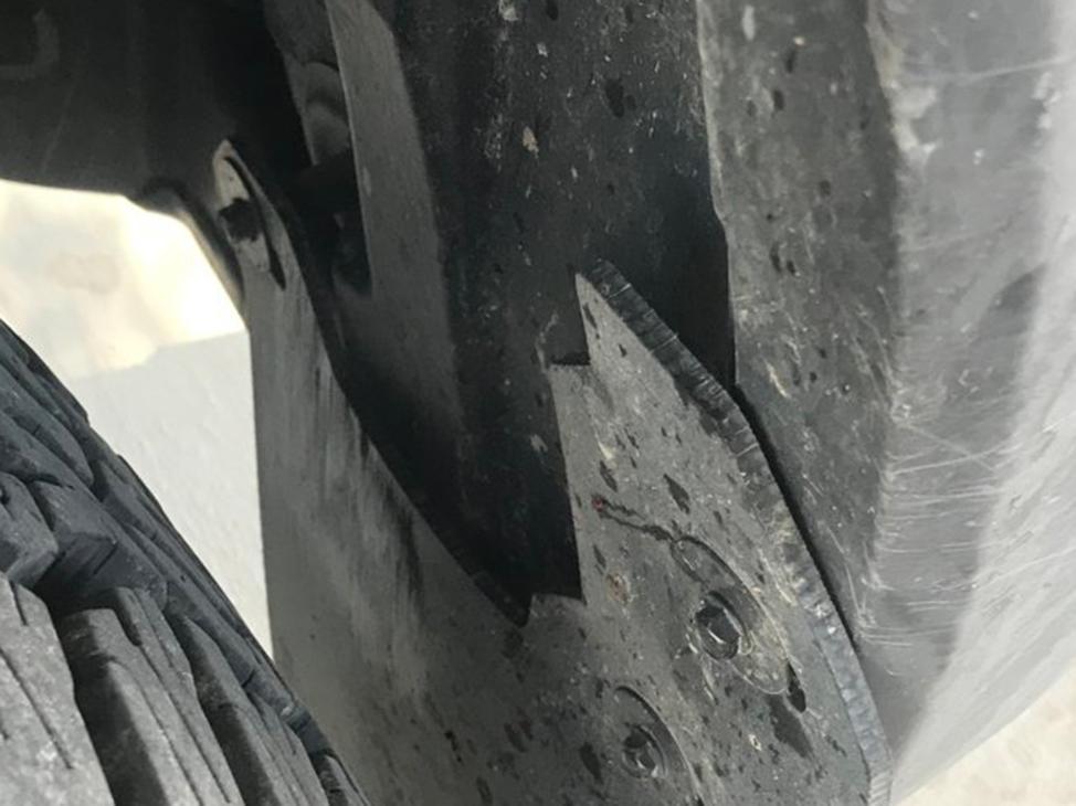 Rek Gen Mud Flap rubbing on stock Tacoma