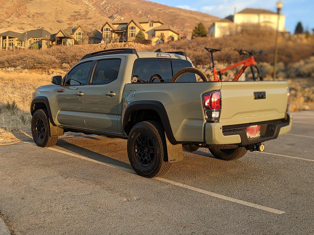 Toyota Tacoma Rek Gen Mud Flaps